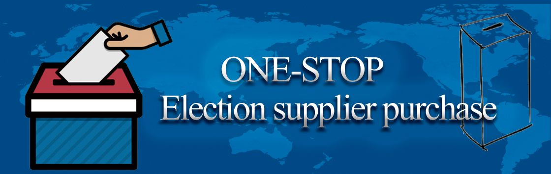 Ballot Box Supplier, Election Supplies Factory From China