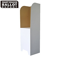 Corrugated Cardboard Voting Booth