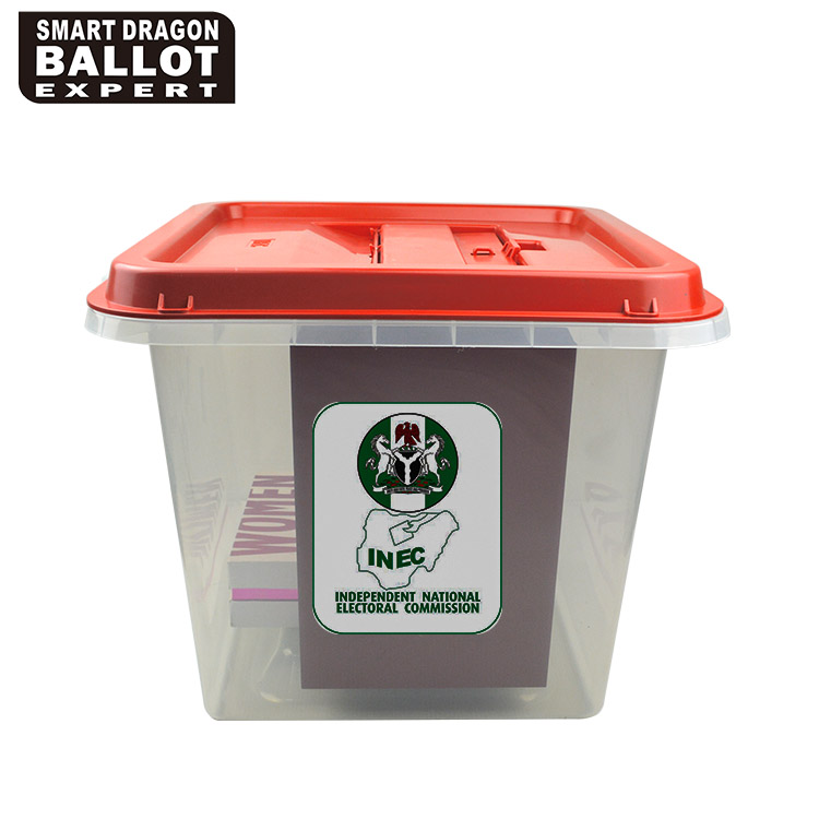 Polypropylene Plastic Election Ballot Box