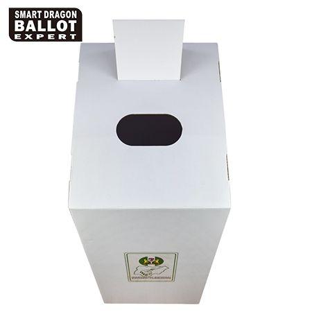 Corrugated Cardboard Ballot Box-Ballot Box Supplier